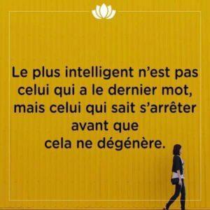 Le Plus Intelligent n'Est Pas Celui...