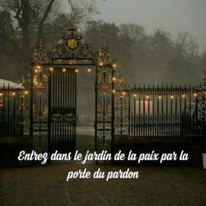 Entrez Dans Le Jardin De La Paix