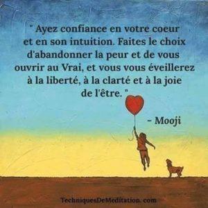 Ayez Confiance en Votre Coeur et Son Intuition