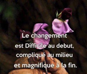 Le Changement...