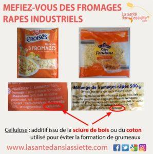 Les Fromages Râpés Industriels