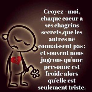 Chaque Coeur A Ses Chagrins Secrets