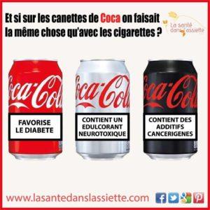 Et Si Sur Les Canettes de Coca....