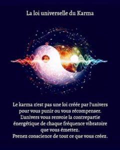 La Loi Universelle du Karma
