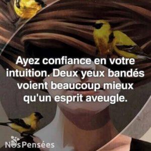 Ayez Confiance En Votre Intuition