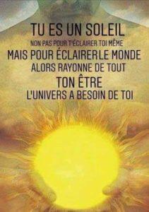 Tu Es Un Soleil