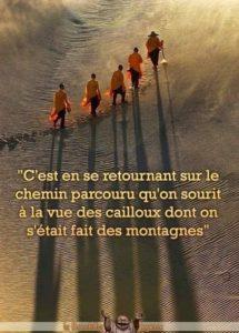 En Se Retournant Sur Le Chemin Parcouru...