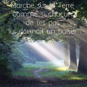 Marche Comme Si Chacuns de Tes Pas...