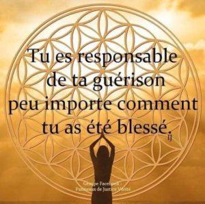 Tu Es Responsable De Ta Guérison