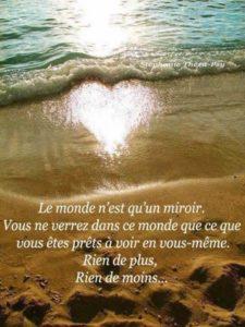 Le Monde N'Est Qu'Un Miroir