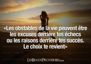 Les Obstacles De Ta Vie