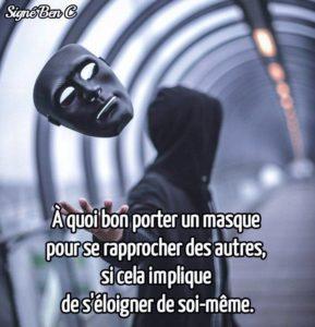 A Quoi Bon Porter Un Masque