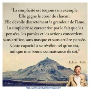 La Simplicité Est Toujours Un Exemple