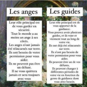 Les Anges et Les Guides