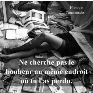 Ne Cherche Pas Au Même Endroit...