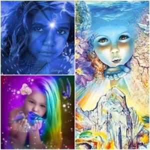 Les Enfants Indigos, Arc-en-Ciel et Cristal