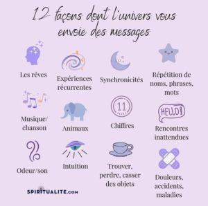 12 Façons Dont l'Univers Vous Envoie Des Messages