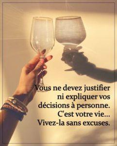 Ni Justifier Ni Expliquer Ta Décision